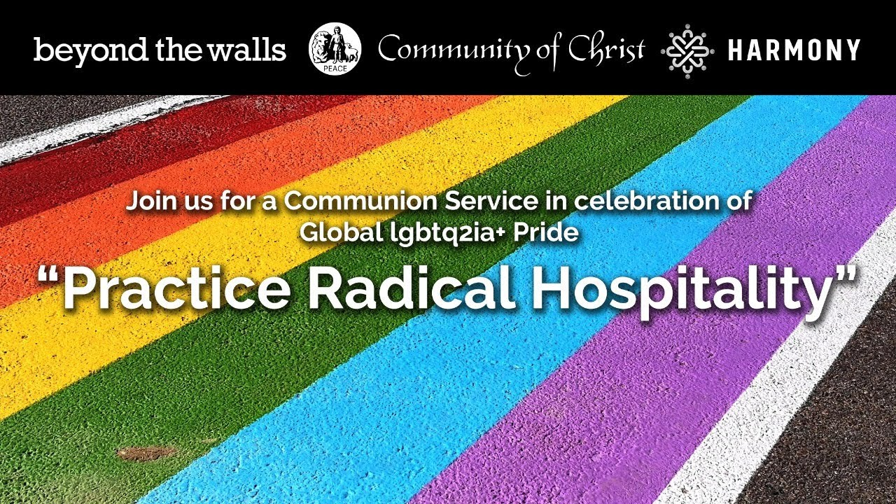 Beyond the Walls Online Church JUNE 28 - A Pride Celebration