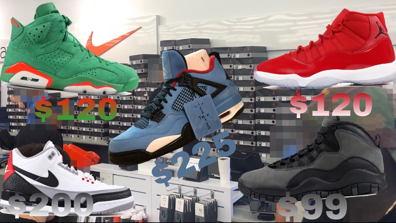 bef7d6c3e4d Travis Scott s At the Nike Outlet Clearance Store plus more... - YouTube