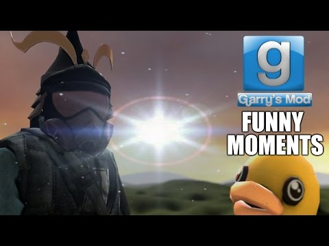 Gmod: Funny Moments w/Friends (Garry's Mod Sandbox Nonlinear gameplay)