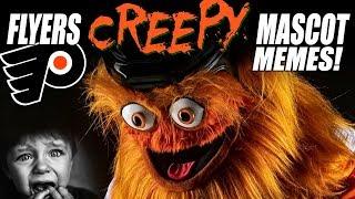Philadelphia Flyers CREEPY Mascot Memes