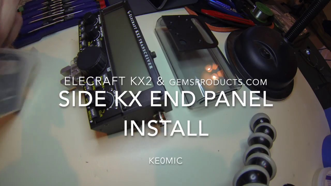 Elecraft KX2 - End Panels