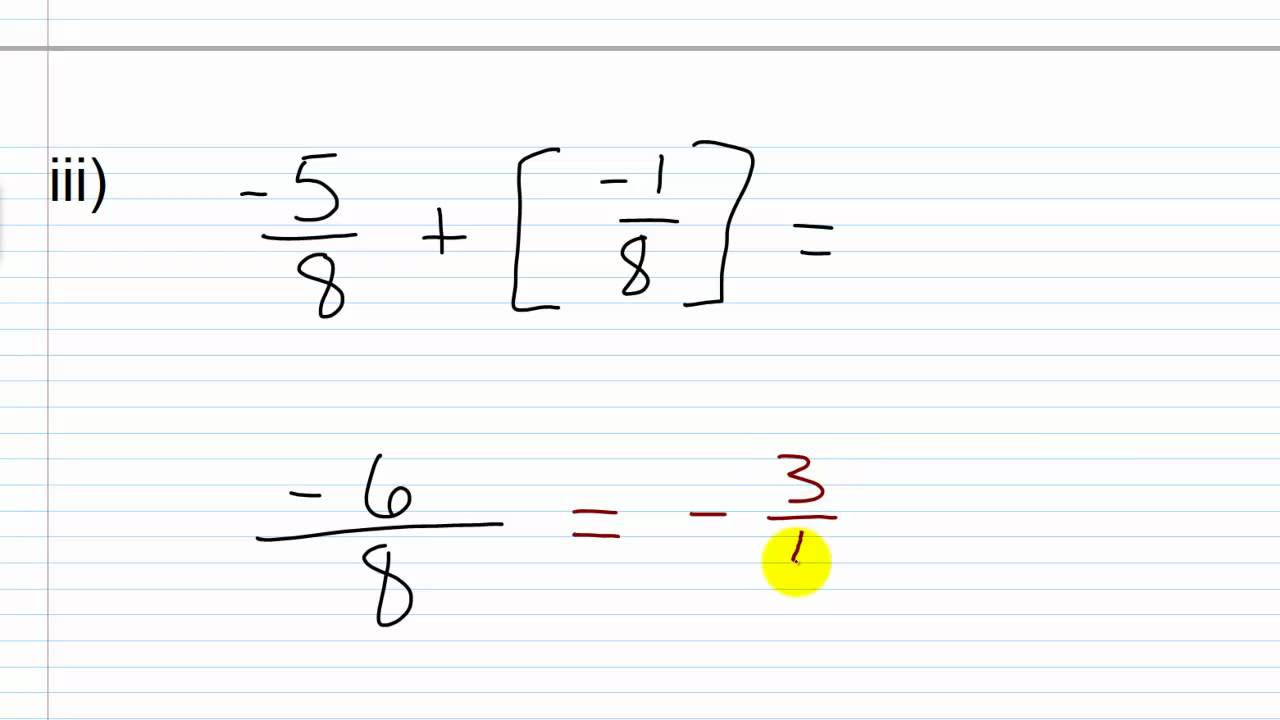 Prealgebra lesson 261 adding and subtracting fractions with a prealgebra lesson 261 adding and subtracting fractions with a common denominator ccuart Images