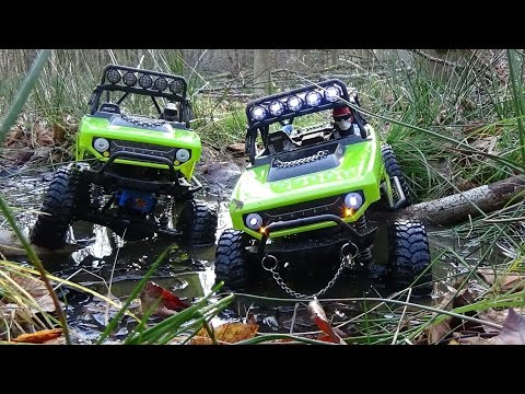 2 Days forest expedition | Axial SCX10 | [1080p]