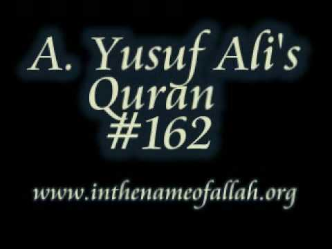 Islam Exposed 162 - Yusuf Ali's Quran