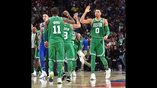 Boston Celtics Vs Philadelphia 76ers October 20 2017