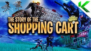 THE *TRUE* STORY ABOUT THE SHOPPING CART! (Short Fortnite BR Movie) - Fortnite: Battle Royale