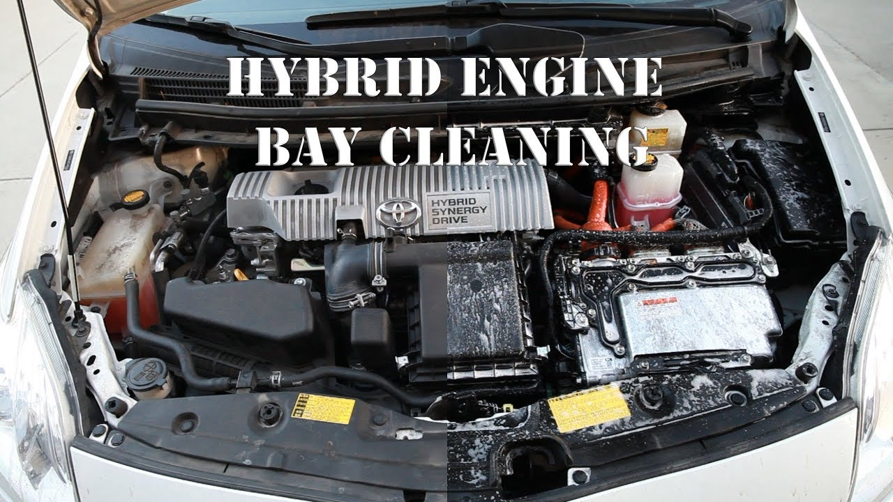 How to clean your Hybrid engine bay by NutzAboutBolts