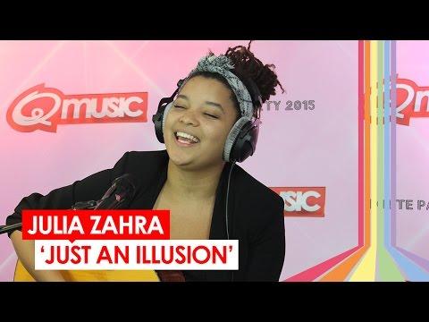 Julia Zahra - 'Just An Illusion' (live bij Q-music)