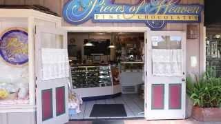 Pieces Of Heaven Chocolatier - Monterey County - Carmel California - The Barnyard Shopping Village