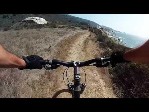 Clifftop Mt Bike Big Sur