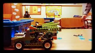 Lego Robotika - Nákladní vůz s opt. senzorem - ZŠ Horoměřice