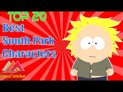 Top 20 Best South Park Characters - [Facts Wrack]