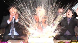 【誕生祭をしてみた❗ 】生配信中にケーキが爆発します(年末ライブの告知あります)