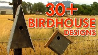 Birdhouses I've made - Outdoors with Trav