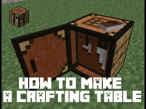 minecraft crafting ideas maker how to make a crafting table in minecraft 4954