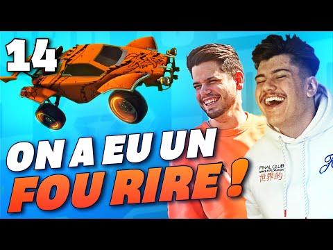 IMPOSSIBLE DE S'ARRÊTER DE RIRE !   ROAD TO TOP 100 2V2   S2E14 (ROCKET LEAGUE FR)
