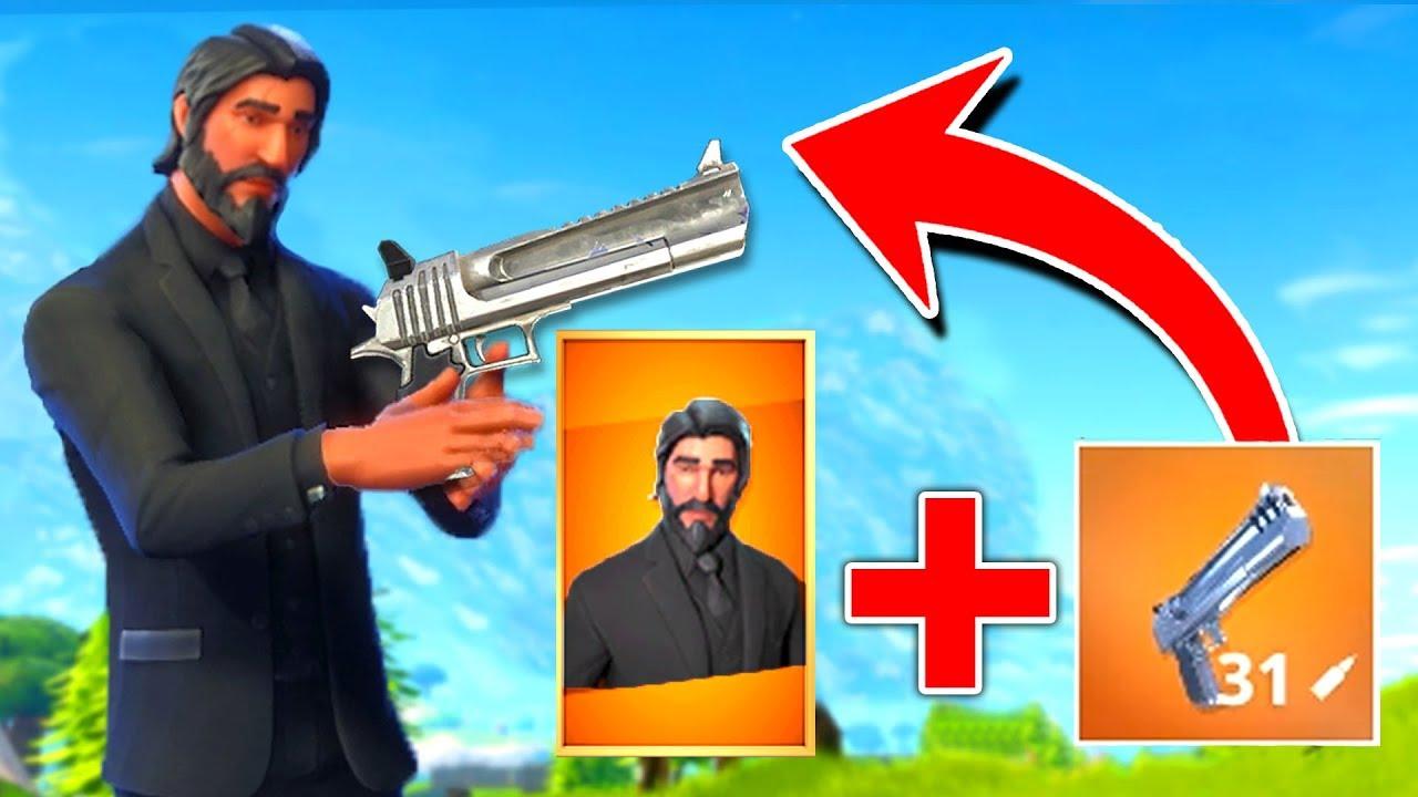 New legendary hand cannon the reaper loadout in fortnite youtube - Fortnite reaper ...