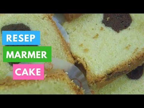 Resep Marmer Cake Youtube