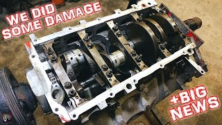 SH!THORSE's 5.3 Turbo LS Gen 4 Rods Removed + TOP SECRET NEWS   Combining 2 Junkyard LS Engines #1