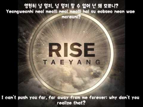 Taeyang- Love You To Death (English Subs + Romanization + Hangul)