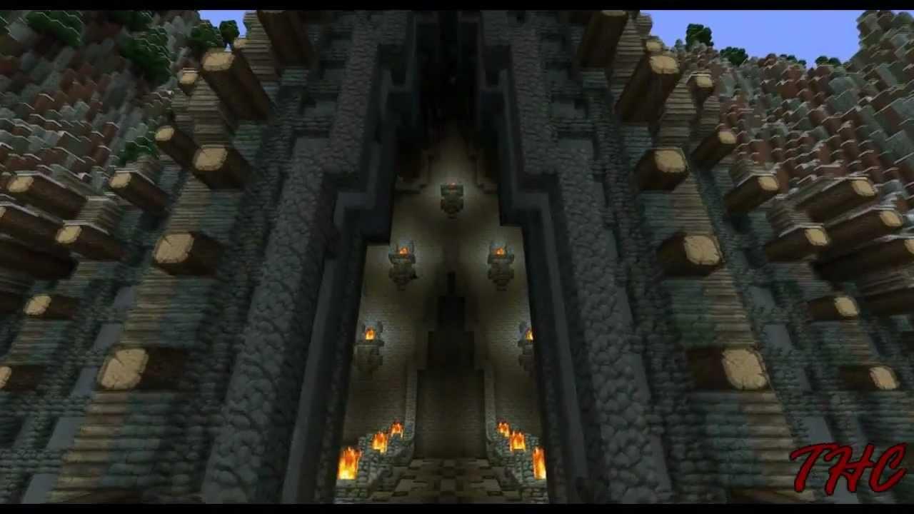 Minecraft Timelapse Icestone A Nordic Dwarven City