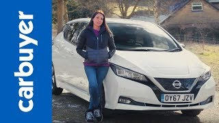 New 2018 Nissan Leaf review - we drive the next generation of electric family car - Carbuyer