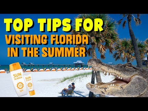 Top tips for visiting Florida in the summer.