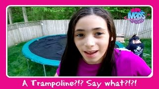 A Trampoline?!!? Say What?!!? + Install | In Mad