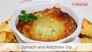 Light Spinach And Artichoke Dip Recipe