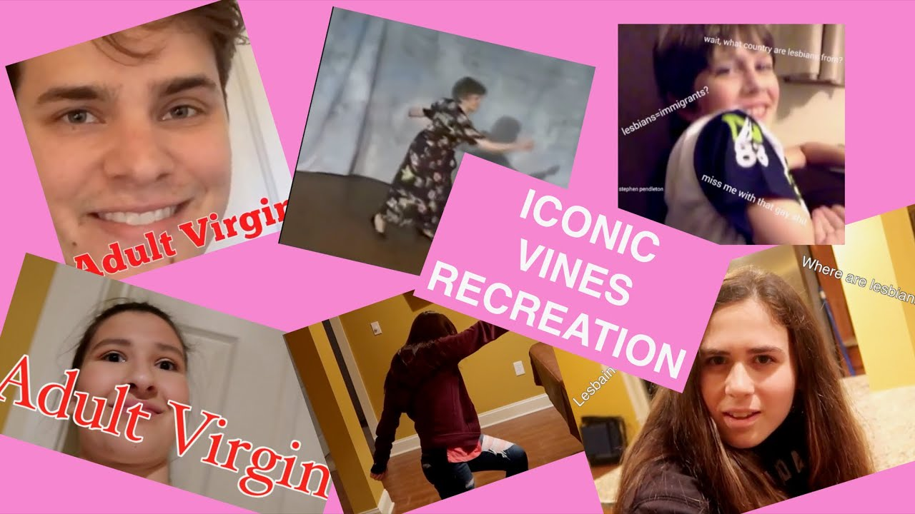 ICONIC VINES RECREATION W MY INTERNET FRIENDS