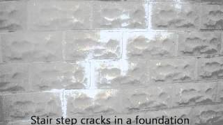 Cracked Foundation Wall | Home Inspection Chicago Shows  (773) 382-8492 | CALL US!