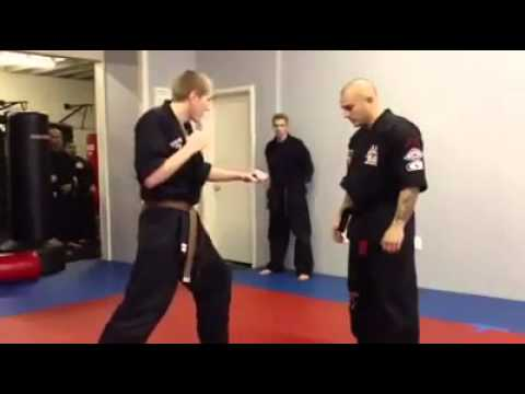 Best Karate trick ever:)