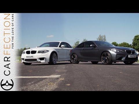 Смотреть BMW M2 vs BMW 1M Coupe - Carfection онлайн