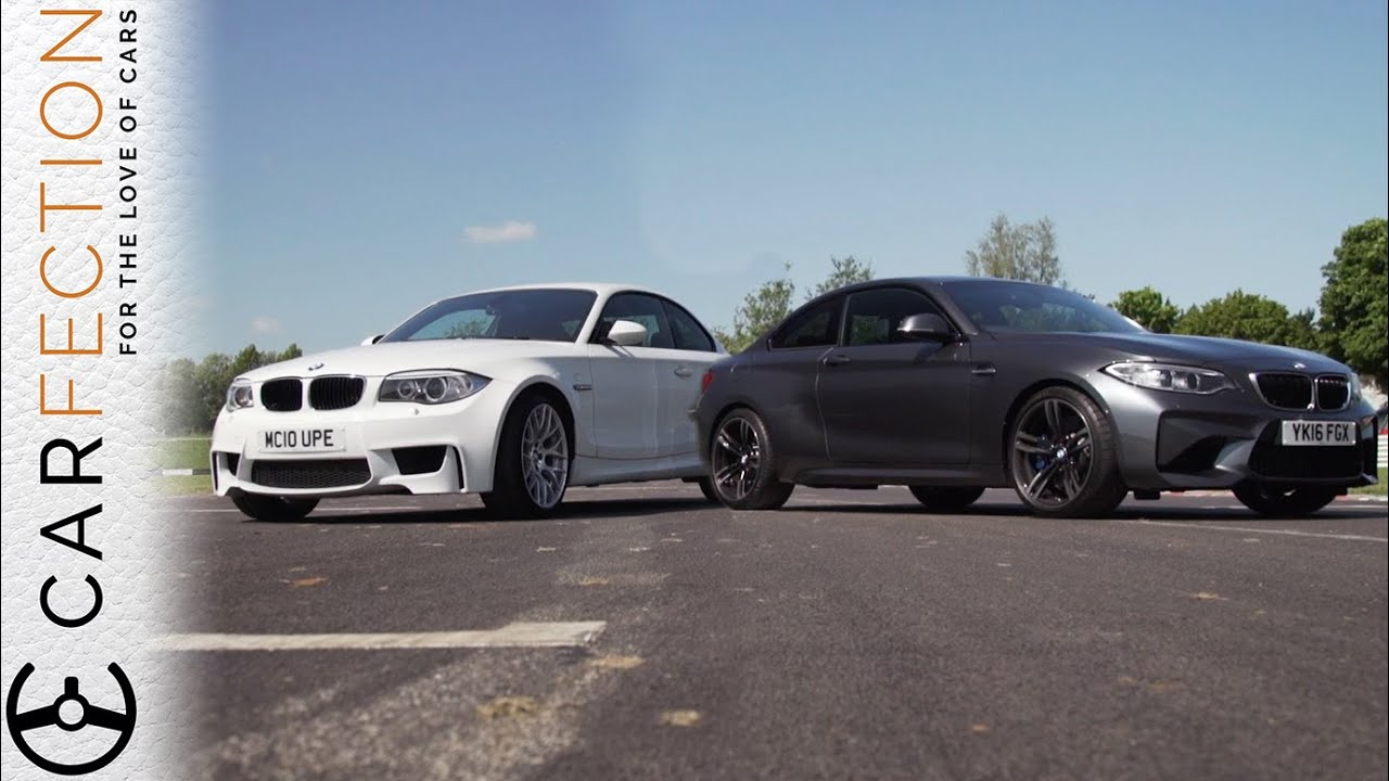 bmw m2 vs bmw 1m coupe carfection youtube. Black Bedroom Furniture Sets. Home Design Ideas