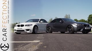 bmw m2 vs bmw 1m coupe carfection