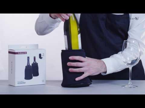 Descubre nuestra nueva cubitera plegable. Compatible con botellas de Cava y Vino. Disfruta de tus bebidas favoritas frías y luego pliega y guarda en muy poco ...