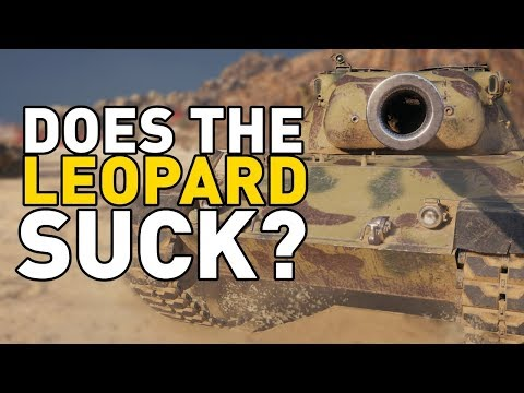 Does the Leopard Suck in World of Tanks?