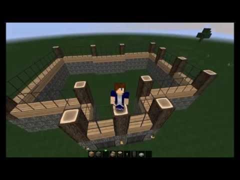 Minecraft tuto construction 1 d butant la maison en for Minecraft tuto construction