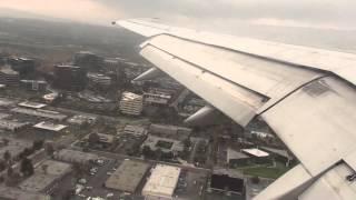Delta 757 Rocket Takeoff from Santa Ana (KSNA) *HD wingview with ATC!*