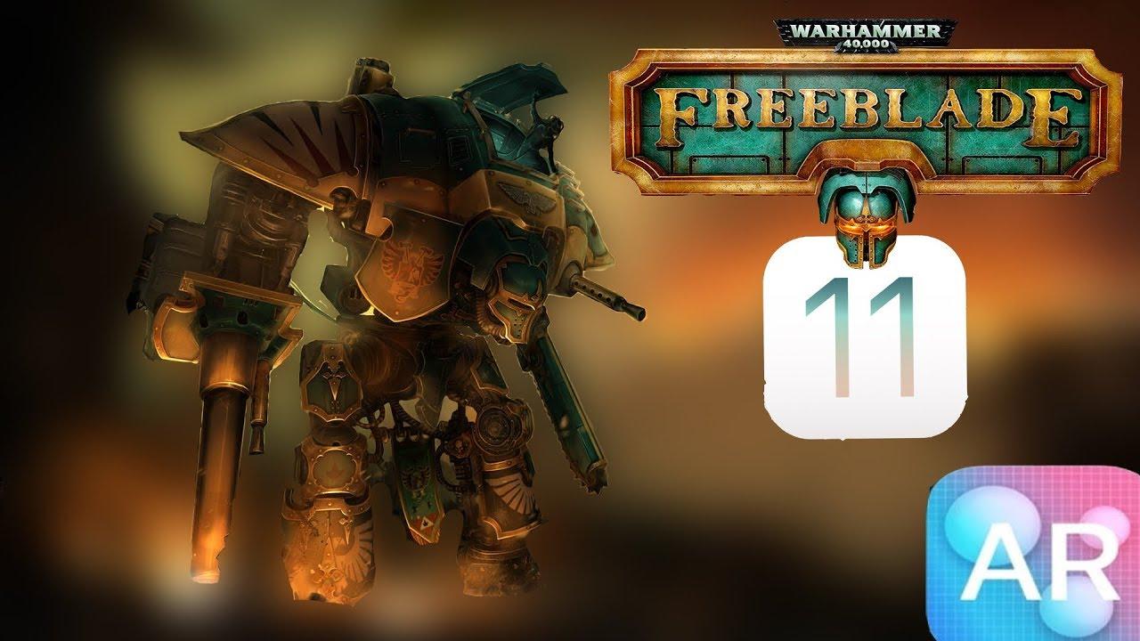 نتيجة بحث الصور عن : Warhammer 40,000: Freeblade ar ios 11