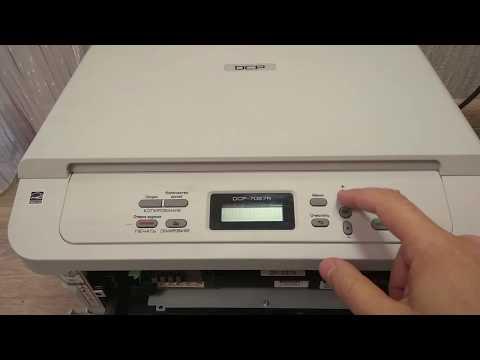 Как обнулить принтер brother dcp 7057r