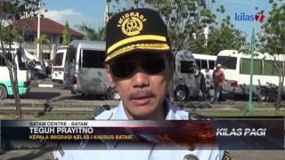 Kilas7 TV Batam - Imigrasi Relokasi Imigran Dari Taman Aspirasi Batam