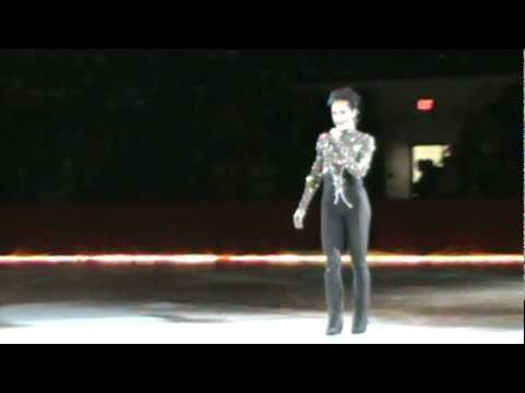 Johnny Weir Premieres Dirty Love at Holiday Dreams on Ice in Flint, MI