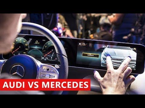 All-New Mercedes-Benz Infotainment (MBUX) vs Audi Connect - Dauer: 6 Minuten, 13 Sekunden