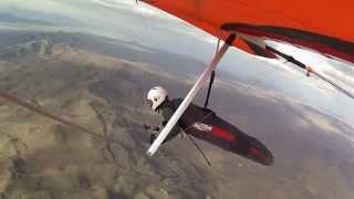 Hang Gliding Into Burning Man 2015