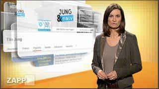 Nervensäge oder frischer Wind? NDR Zapp über Jung & Naiv in der Bundespressekonferenz