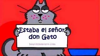 Estaba el señor don Gato - Canciones infantiles