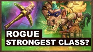 Rogue Strongest Class? | Rise of Shadows | Hearthstone