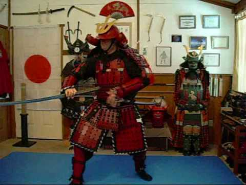 98 close up footage of the new red samurai armor and virtual tour of rh youtube com Samurai Sword Samurai Armor Drawing