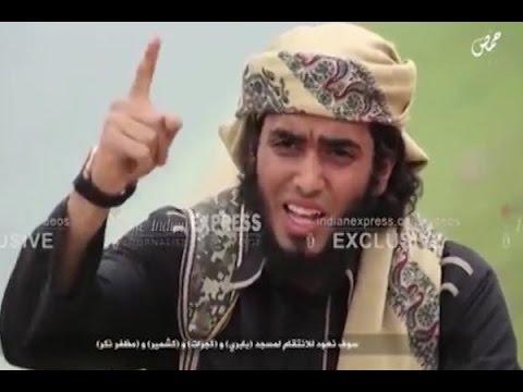 'We will avenge Babri, Kashmir and Gujarat', threatens Fahad Tanvir Sheikh in an ISIS vide